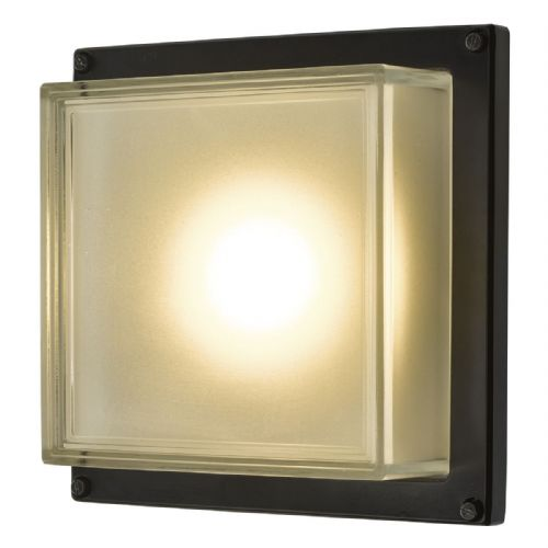 Aquilina Wall Light Matt Black LED IP44 AQU2122